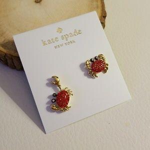Kate spade crab earrings